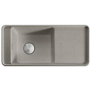 Lavello Franke Sterling Silver SYG 611 Style 97x45cm Fragranite 114.0536.215