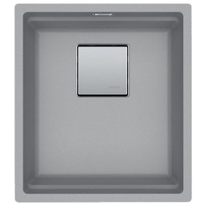 Lavello Franke Stone Grey KNG 110-37 Kubus 2 Sottotop 37x42cm 125.0529.503