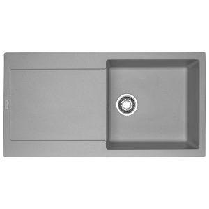 Lavello Franke Stone Grey MRG 611 L Maris 97x50cm Fragranite 114.0066.570