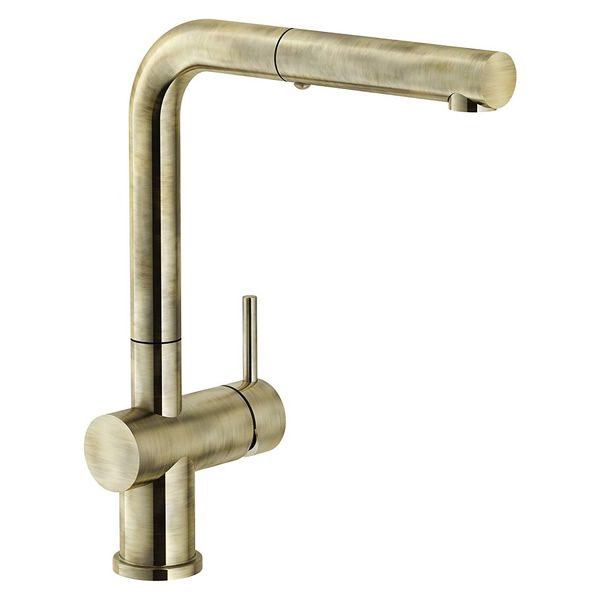 Rubinetto Franke Bronzo Active Plus Metallic Doccia Estraibile 115.0524.927