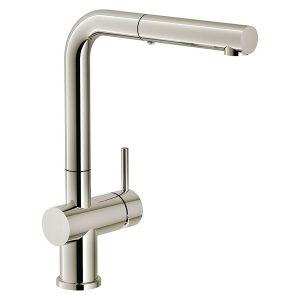 Rubinetto Franke Nichel Active Plus Metallic Doccia Estraibile 115.0524.923