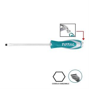 Cacciavite a Taglio THTGTS8200 Total Utensili Scanalato 8mm