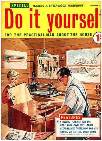 Bricolage e Fai da Te Do It Yourself Magazine January 1957