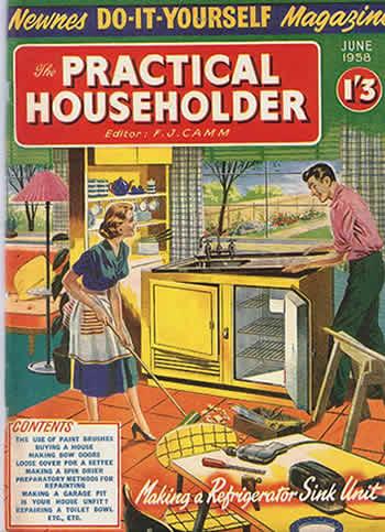 Bricolage e Fai da Te Do It Yourself Magazine June 1958