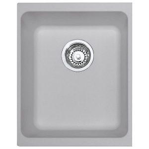 Lavello Franke Alluminio KBG 110-34 Kubus 34x40cm Sottotop 125.0251.993