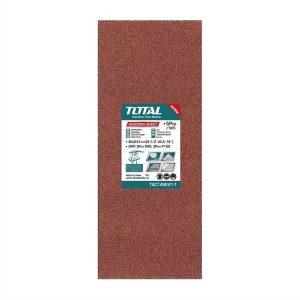 Set 5 Fogli Abrasivi P80-120 TAC749241-1 Total Italia