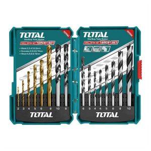 Set Punte Per Trapano TACSD6165 Total Italia