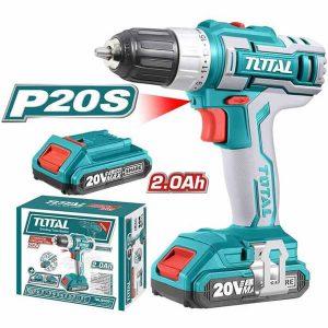 Trapano 20W 2 Batterie TOTTDLI20022 Total Italia
