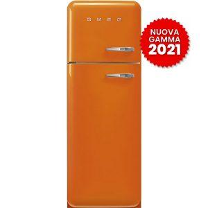 FAB30LOR5 Frigorifero Colorato Arancione Smeg Doppia Porta