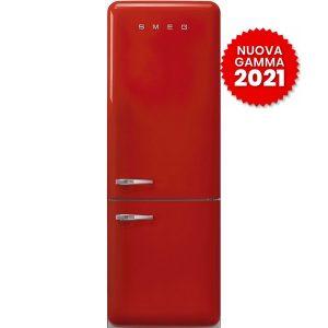Frigorifero Smeg FAB38RRD5 Rosso Combinato Anni 50