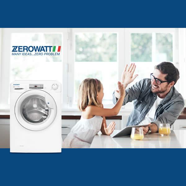 Lavatrice Zerowatt OZ 128T-S 8Kh 1200 Giri Classe A+++