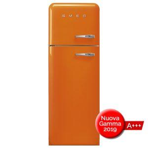 FAB30LOR3 Frigorifero Colorato Arancione Smeg Doppia Porta