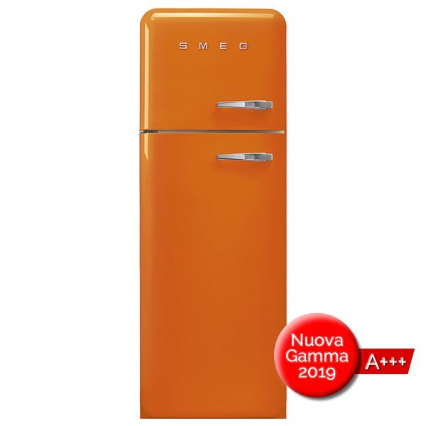 FAB30 Frigorifero Colorato Arancione Smeg Doppia Porta