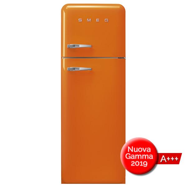 FAB30 Frigorifero Colorato Arancione Smeg Doppia Porta - UniPrice