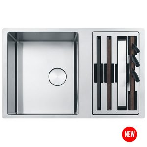 Franke Lavello Box Center BWX 120-41-27 Con Accessori Sottotop