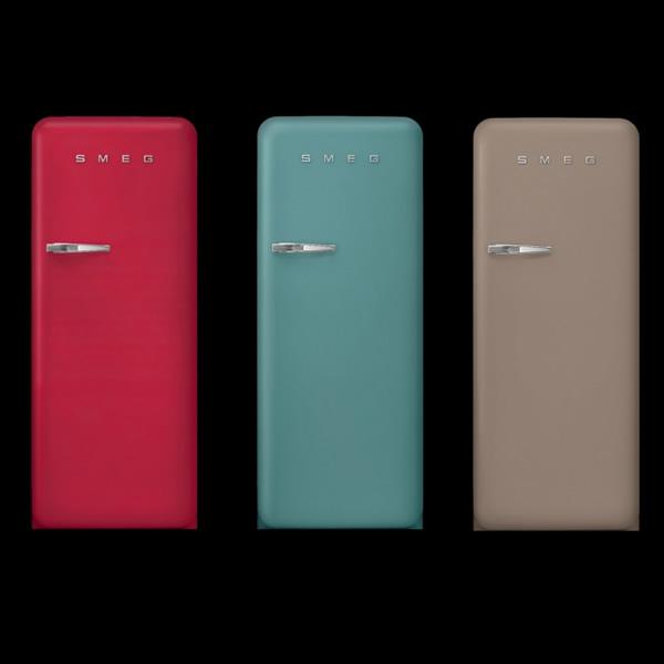 Frigoriferi Fab28 Nuovi Colori Smeg Design