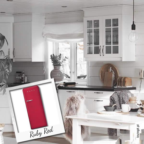Frigoriferi Fab28 Nuovi Colori Smeg Ruby Red