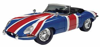 Frigorifero e Bandiera Inglese Jaguar