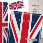 Frigorifero e Bandiera Inglese Cover