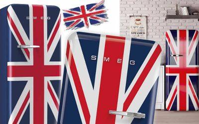 Frigorifero e Bandiera Inglese