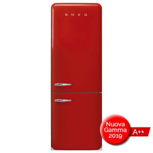 Frigorifero Smeg FAB38RRD Rosso Combinato Anni 50