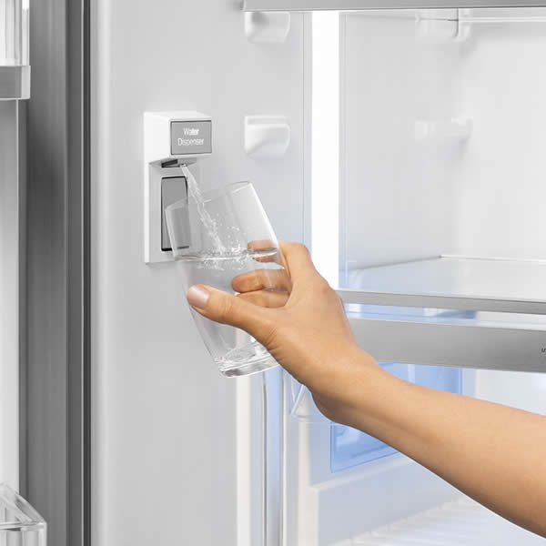 Frigorifero Smeg FQ60X2PEAI Acciaio 4 Porte No Frost Totale Dispenser Acqua