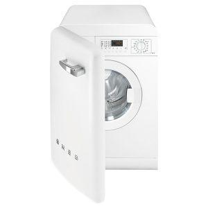 Lavatrice 7Kg Smeg Bianco LBB14WH-2 A++ Anni 50