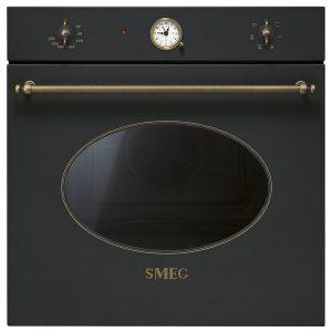 Forno Smeg SF800AO Ventilato Antracite Estetica Coloniale