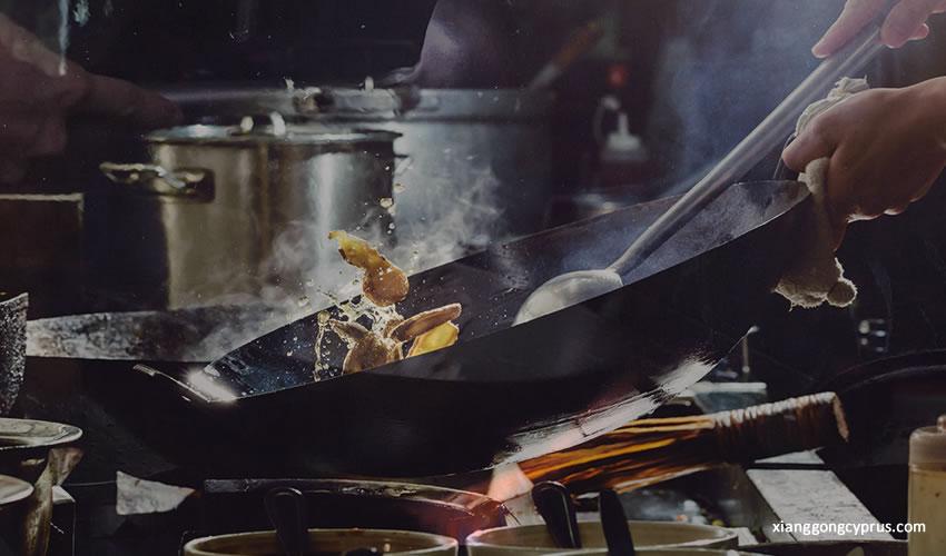 Piano Cottura con Bruciatore Wok