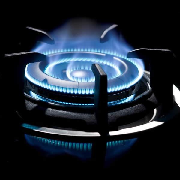Piano Cottura con Bruciatore Wok Supporto Ghisa