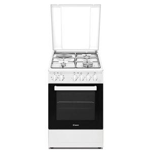 Cucina a Gas Candy CCG6503PW Coperchio in Vetro