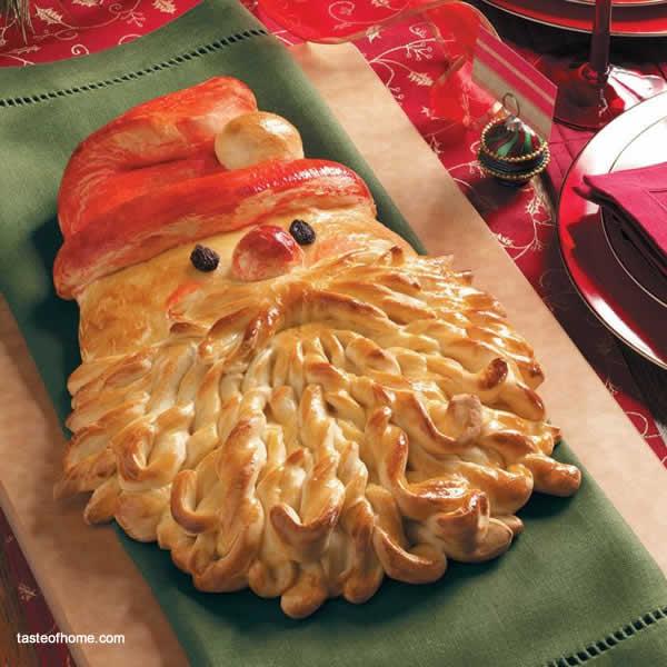 Feste di Natale - Cucinare con Babbo Natale Pane