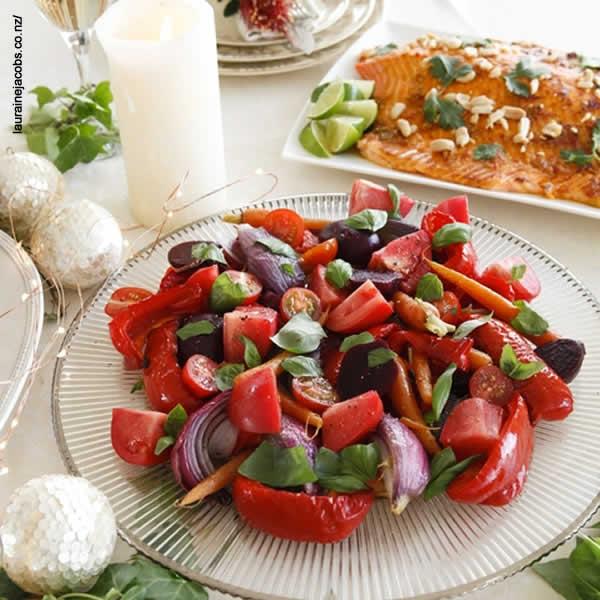 Feste di Natale - Cucinare con Babbo Natale Insalata Rossa