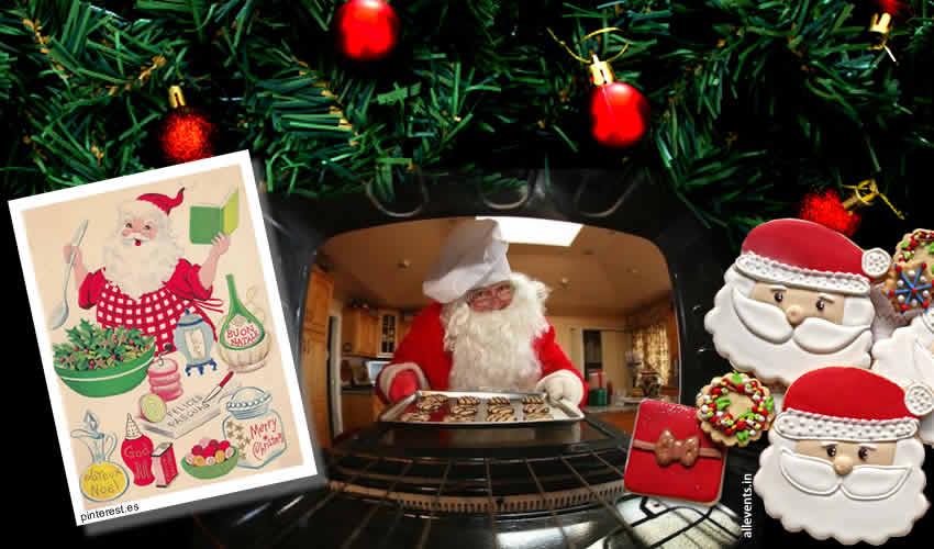 Feste di Natale – Cucinare con Babbo Natale