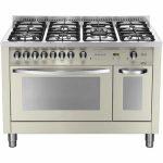Cucina 120cm Avorio Doppio Forno Lofra PBID126GV+E/2CI Special
