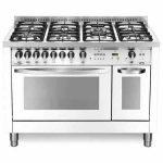Cucina Doppio Forno 120×60 Lofra PBPD126GV+E/2CI  Special Bianco Perla
