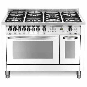 Cucina Doppio Forno 120x60 Lofra PBPD126GV+E/2CI Special Bianco Perla
