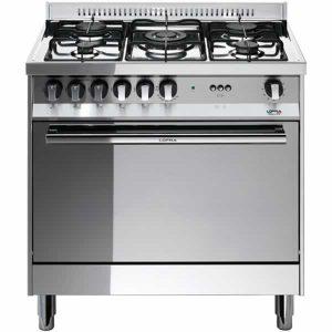 Cucina 80x50 Maxi Forno Gas Lofra MG85G/C Inox