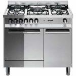 Cucina 80×50 Porta Bombola Forno Gas Lofra M85G/C Inox