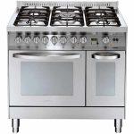 Cucina Doppio Forno Lofra PD96GVE/CI Professional Acciaio Inox 90cm