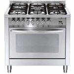 Cucina Lofra PG96GV/CI Gas Ventilato Professional 90×60 Acciaio