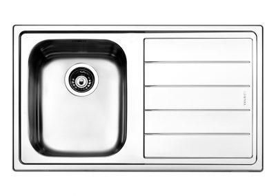 Lavello Apell LN861I serie Linear 1 vasca acciaio inox
