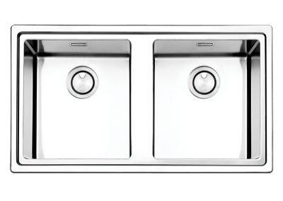 Lavello Apell LNP862IBC Linear Plus 2 vasche acciaio inox