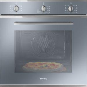 Forno termoventilato Smeg SF64M3PZS con funzione pizza