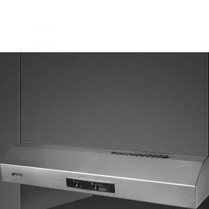 cappa Smeg KTE60EX integrata con frontalino a vista da 60 cm