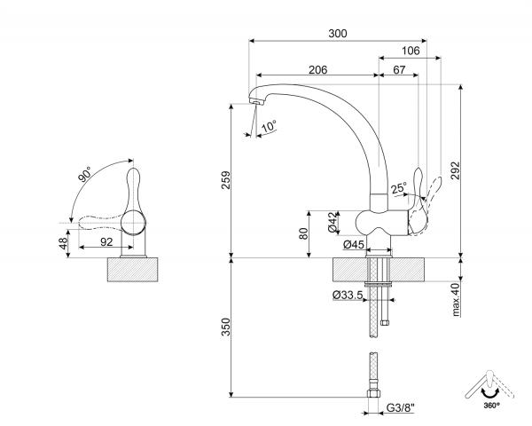 disegno tecnico MF8A2
